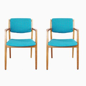 Armchairs by Ferdinand Lundqvist, 1960s, Set of 2
