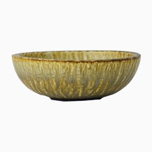 Rubus Stoneware Chamotte Bowl by Gunnar Nylund for Rörstrand, 1940s