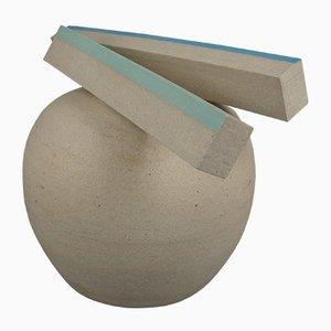 Großes Objekt aus Keramik von Jan de Rooden, 1981