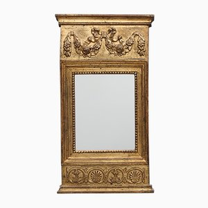 Espejo gustaviano de madera, década de 1810