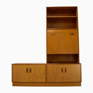 Mid-Century Danish Teak Bookcase from G-Plan