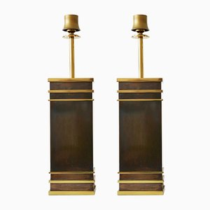 Mid-Century German Table Lamps from Vereinigte Werkstätten, Set of 2