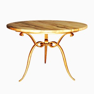 Tavolino da caffè Mid-Century di René Prou