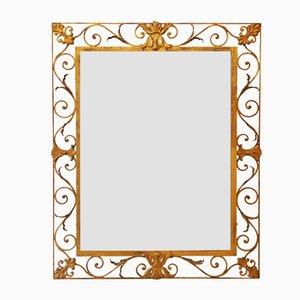 Specchio in ferro battuto, anni '50