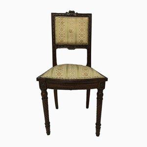 Sedia piccola antica in legno, inizio XX secolo