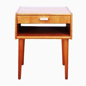 Nachttisch aus Teak, 1960er