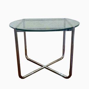 Tavolino da caffè MR di Ludwig Mies Van Der Rohe per Knoll International, anni '70