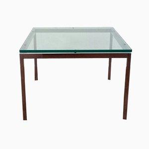 Tavolino da caffè quadrato di Florence Knoll per Knoll Inc., anni '70