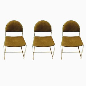 Vintage Side Chairs, 1970s, Set of 3