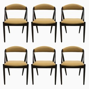 Model 31 Chairs by Kai Kristiansen, 1960s, Set of 6