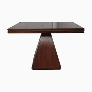 Vintage Italian Rosewood Extendable Dining Table by Vittorio Introini for Saporiti Italia, 1960s