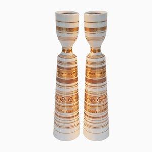 Kerzenhalter von Bjørn Wiinblad für Rosenthal, 1960er, 2er Set