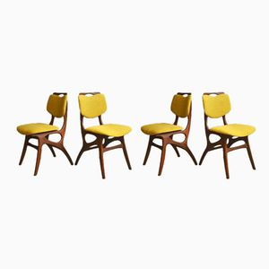 Vintage Dining Chairs from Pynock, 1960s, Set of 4