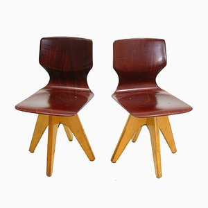 Children's Chairs by Adam Stegner for Pagholz Flötotto, 1960s, Set of 2