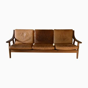 GE-530 Sofa by Hans J. Wegner for Getama, 1980s