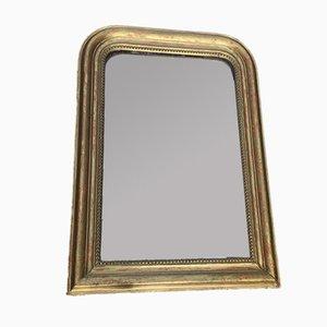 Espejo Louis Philippe dorado, década de 1890