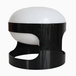 Black KD27 Table Lamp by Joe Colombo for Kartell, 1967