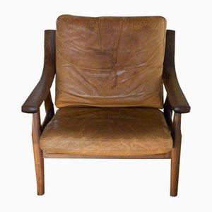 GE-530 Sessel von Hans J. Wegner für Getama, 1980er