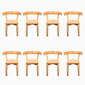 Beistellstühle von Jörgen Gammelgaard für Sorø Stolefabrik, 1970er, 8er Set