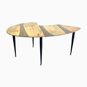 Mid-Century Italian Coffee Table from Cumino, 1950s