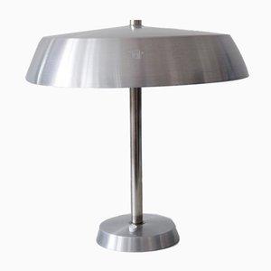 Lámpara de mesa alemana Mid-Century moderna grande de SIS, años 70