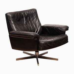 DS53 Leather Swivel Chair from de Sede, 1960s