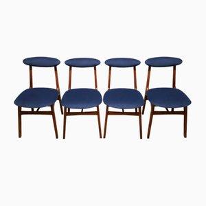 Chaises de Salle à Manger par Rajmund Hałas, 1960s, Set de 4