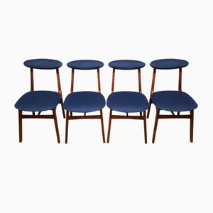 Dining Chairs by Rajmund Hałas, 1960s, Set of 4