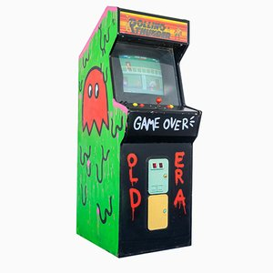 Vintage Rolling Thunder Arcade Game, 1980s