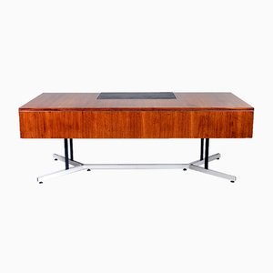 Large Rosewood Executive Desk, 1970s