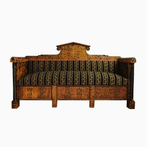 Large Antique Upholstered Sofa