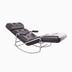 Bauhaus French Rocking Chair from Lama, 1960s