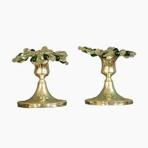 Vintage Candleholders, Set of 2