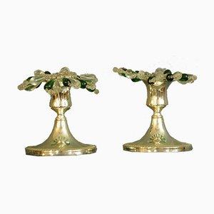Vintage Candleholders, Set of 2