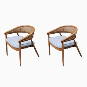 King Cole Armchairs by James Mont, 1950s, Set of 2
