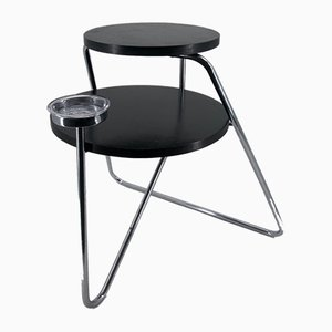 Vintage Bauhaus B153 Side Table and Ashtray from Thonet, 1930s