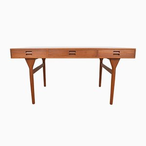 Vintage Danish Teak Desk by Nanna Ditzel for Søren Willadsen Møbelfabrik