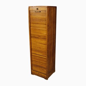 French Oak Filing Cabinet, 1950s
