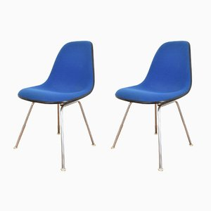 Vintage DSX Side Chairs by Charles & Ray Eames for Herman Miller, Set of 2