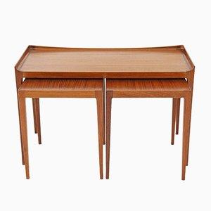 Tavolini ad incastro di Kurt Ostervig per Jason Møbler, anni '50
