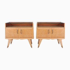 Italian Nightstands from La Permanente Mobili Cantù, 1950s, Set of 2