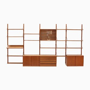 Vintage Danish Teak Shelving System from Poul Cadovius for Cado