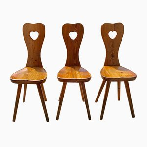 Side Chairs, 1950s, Set of 3