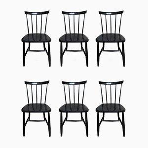 Chaises d'Appoint, 1950s, Set de 6