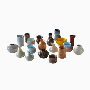 Vintage Ceramic Vases, Set of 19