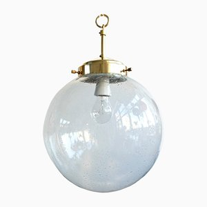Lámpara colgante vintage de Kamenický Šenov, años 60