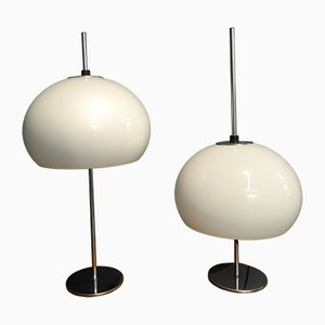 Perl Table Lamps from Hustadt Leuchten, 1970s, Set of 2