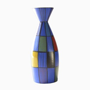 Ceramic Vase by Bodomans for Bay Keramik, 1950s