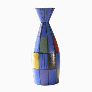 Vaso in ceramica di Bodomans per Bay Keramik, anni '50