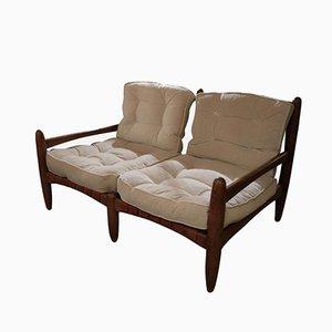 Vintage 2-Sitzer Sofa von Hans J. Wegner